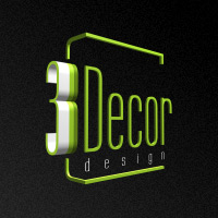 3Decor design logo